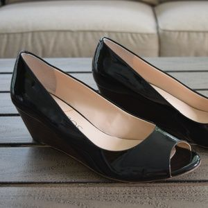 Sole Society Laurie Wedge Size 9 1/2 Black